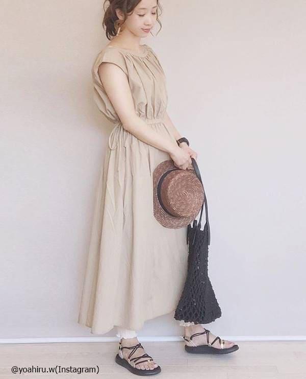 着るだけで即今年顔♡3000円以下で買える「GUワンピース」5選