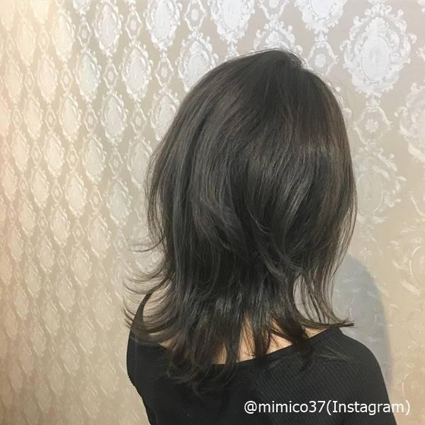 長さは変えたくない…お色気ニュアンスヘアで印象変えよ!