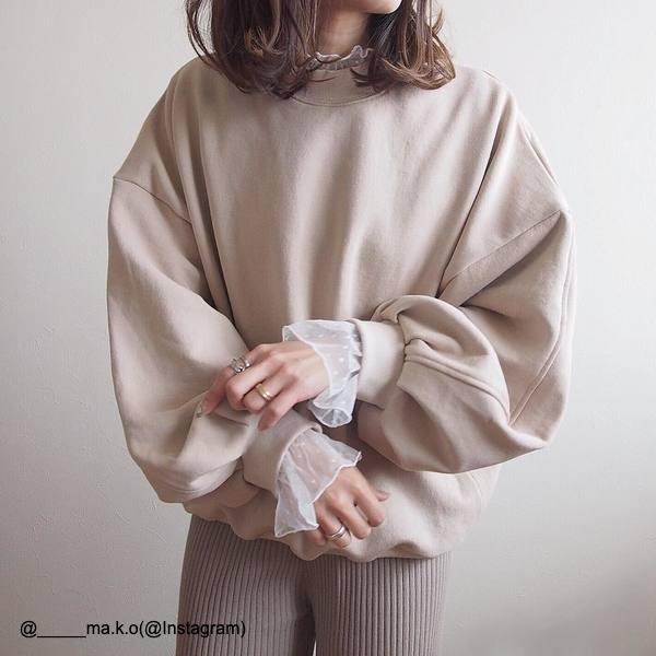 2019秋マスト【ベージュスウェット】オススメ着回し術4選