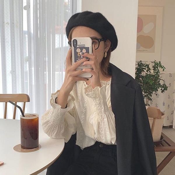 「ベレー帽」×「冬アイテム」高見え確実♡絶対褒められスタイル4選