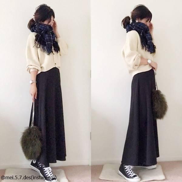 スカートは【coca】が最強♡この冬買うべきオススメコーデ4選
