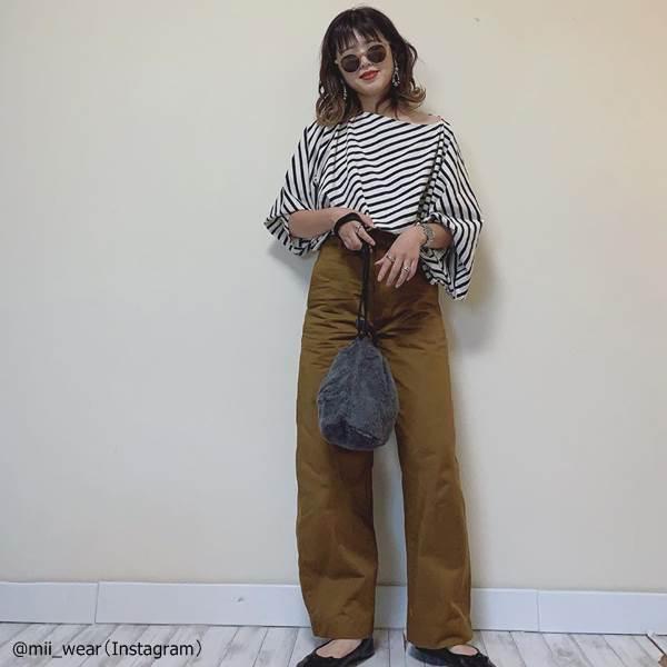 【ユニクロ】美脚が叶う♡「カーブパンツ」スタイルアップコーデ術4選