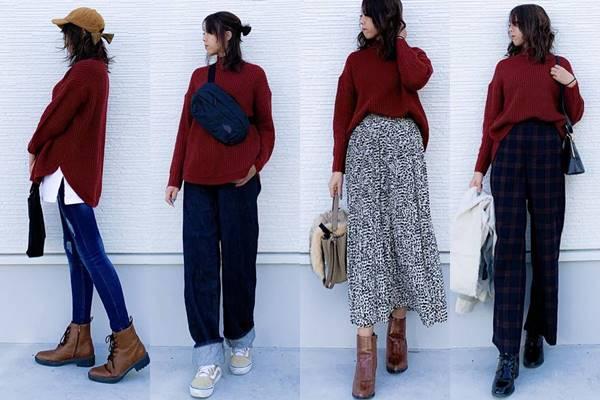 【GU】シルエットもキレイ♡着回し抜群セーターのおすすめコーデ4選