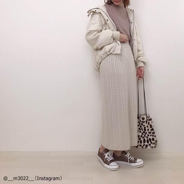 【GU・ユニクロ】バランス◎!低身長さん向けロングスカートコーデ術