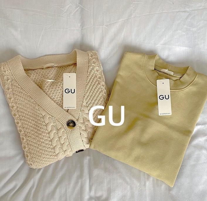 【GU】オシャレさんはすでに春カラー♡長く使えるヘビロテアイテム4選