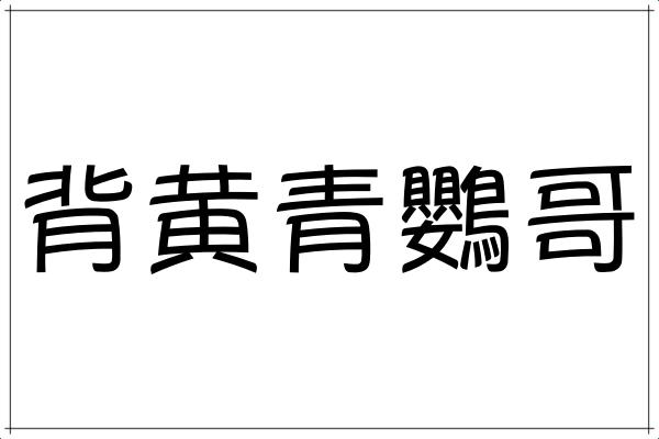 【背黄青鸚哥】読めるかな?みんなが知ってるあのカラフルな鳥さん!