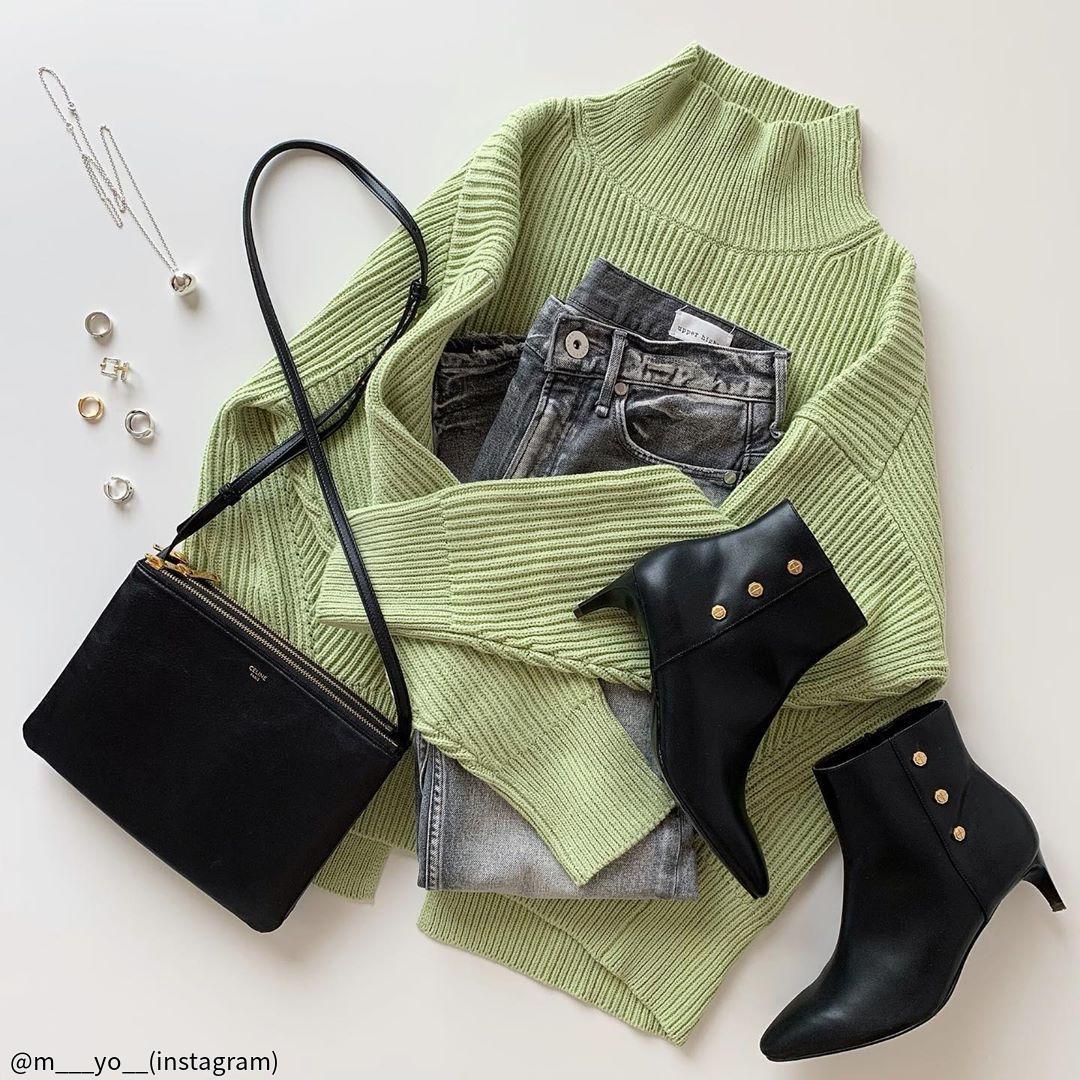 こう着れば即オシャレ!春っぽ「緑」と合わせる正解カラー3選