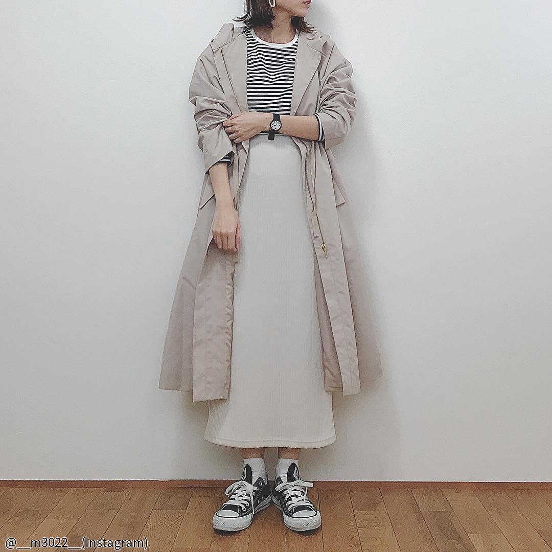【GU】これさえあれば大丈夫!神すぎるスカートを使った着まわしコーデ3選