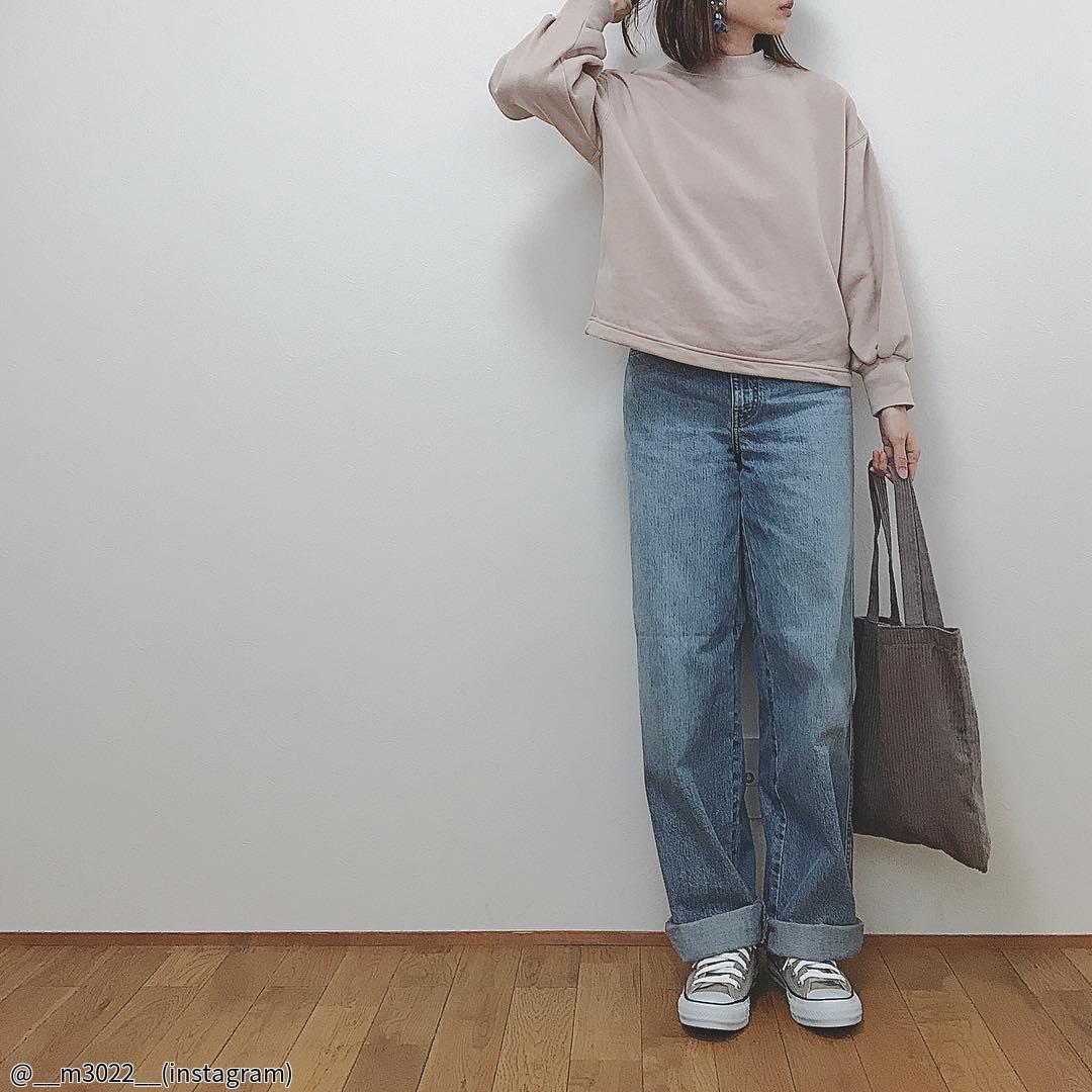 春のおすすめ【ユニクロ・GU】のデニムパンツで作るカジュアル美人コーデ4選