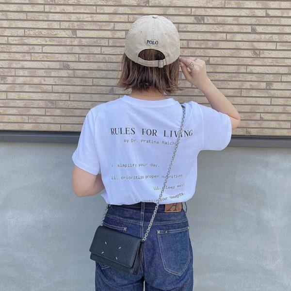 これから出番高め!「Tシャツ」万能おすすめコーデはこれ!3選