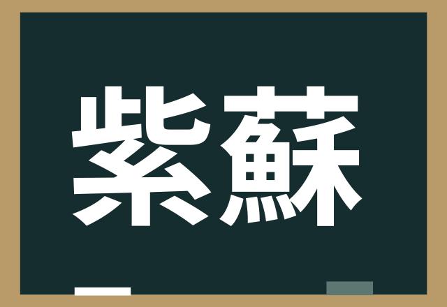 【紫蘇】なんと読む?お料理に使うあの葉っぱ