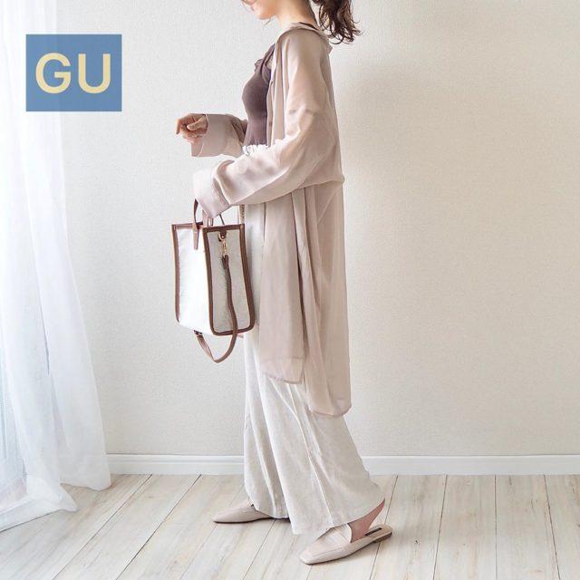 【しまむら・GU・GRL】女っぽさ全開♡ふんわり大人可愛いコーデ3選