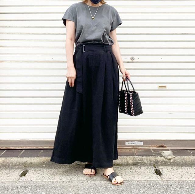 【低身長さん向け】「ユニクロ 」のスカートが超優秀すぎる!