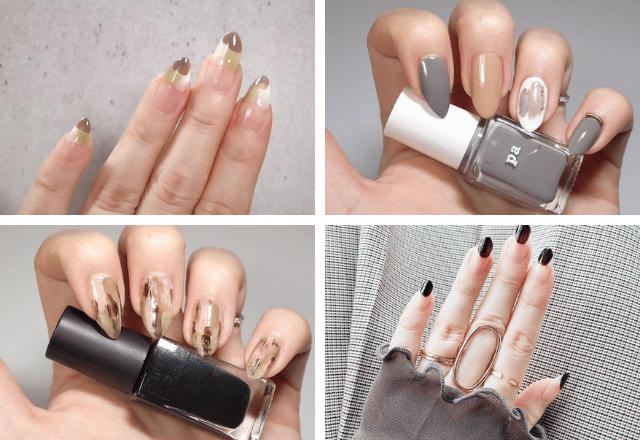 簡単な「塗りかけネイル」でもこんなにオシャレに♡4つのバリエーションをご紹介!